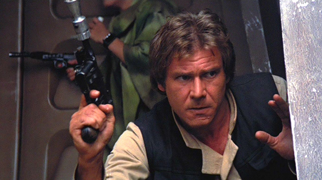 guns in movies, Han Solo Blaster, Mauser C96