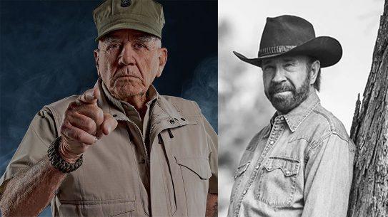 R. Lee Ermey, Chuck Norris, Glock