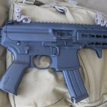 SIG MPX, backpack, open