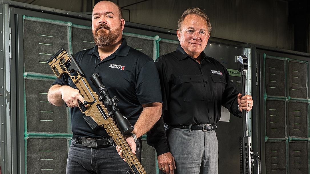 Barrett Firearms, Ronnie Barrett, Chris Barrett, Barrett Military Contracts