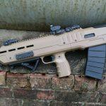 Inter Ordnance XB Bullpup Shotgun, IO XB Bullpup Shotgun, ground