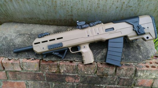 Inter Ordnance XB Bullpup Shotgun, IO XB Bullpup Shotgun, ground