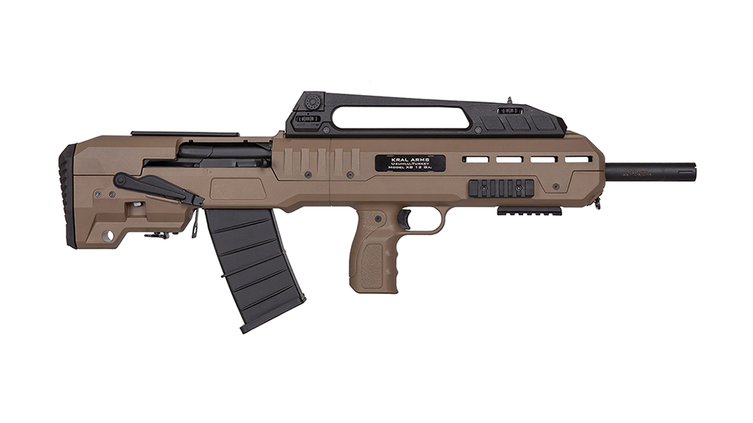 IO XB Bullpup Shotgun right