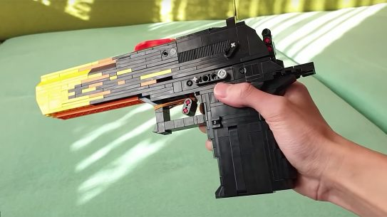 LEGO Desert Eagle, LEGO gun build
