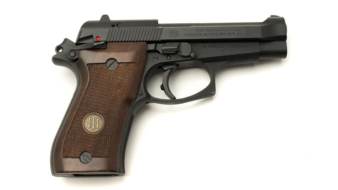 Jerry Lewis Gun Collection, Beretta Cheetah, pistols, Beretta