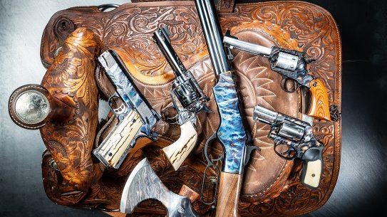 Tyler Gun Works Casehardening, Color casehardening