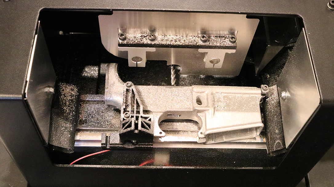 Ghost Gunner CNC machine, AR Lower Receiver