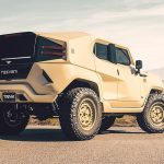 Rezvani Tank Military Edition, desert, rear