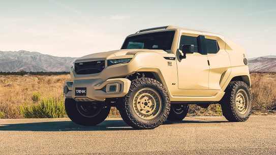 Rezvani Tank Military Edition, desert, lead
