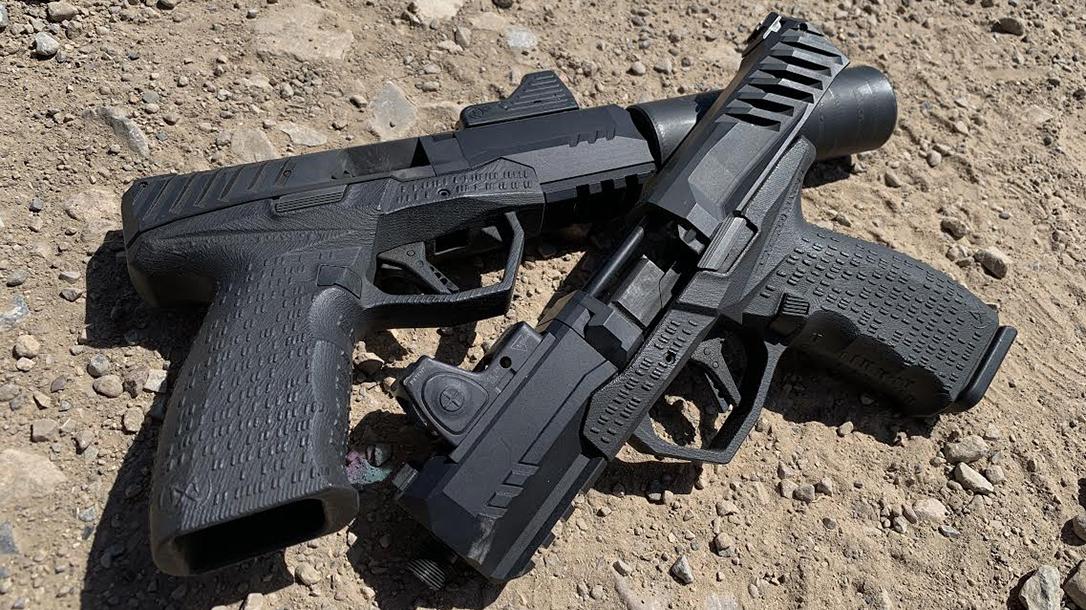 SilencerCo Non-NFA Maxim 9 pistol, duo