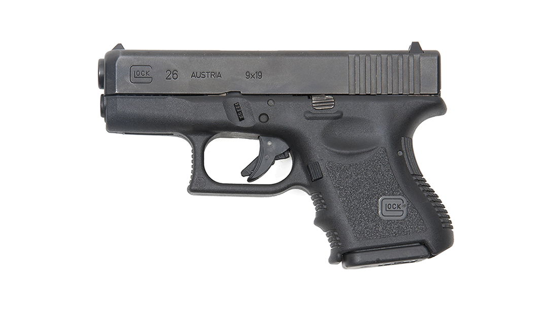 Glock 26, G26 pistol, top Glock, concealed carry