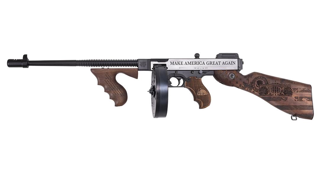 FIRST LOOK: Auto-Ordnance Unveils Trump Tommy Gun in 45 ACP