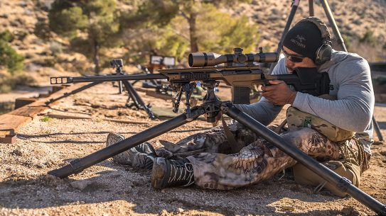Savage Model 10 Stealth Evolution rifle test, Max Ordinate Academy