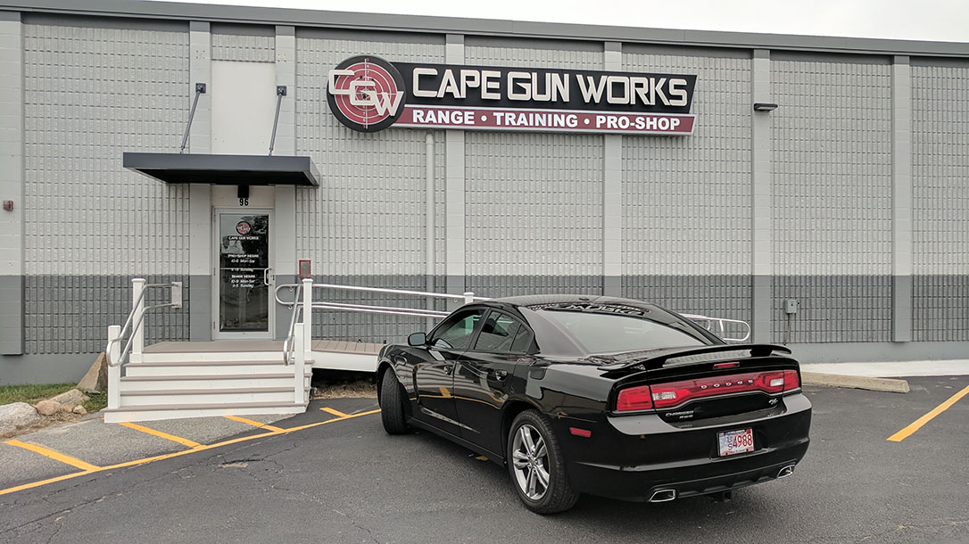 Cape Gun Works, luxury gun ranges, outside