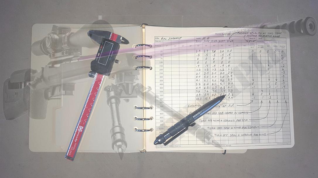 Strategic Edge Precision Rifle Data Book