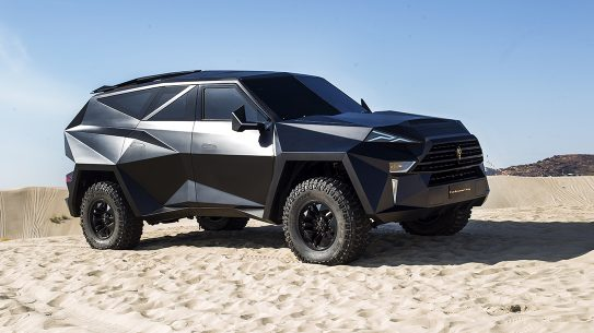 Karlmann King, world's most expensive SUV, luxury SUV, desert