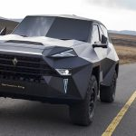 Karlmann King, world's most expensive SUV, road