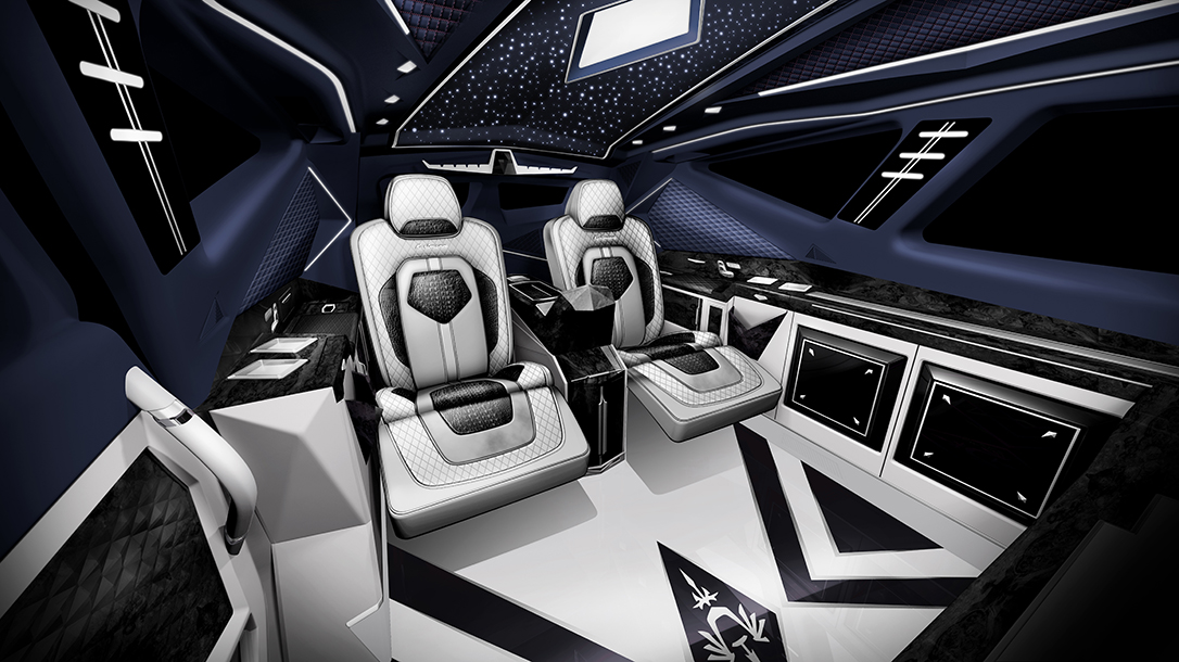 Luxury SUV, interior, world's most expensive SUV