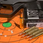 .22 Ammo, hunting, single-shot pistol