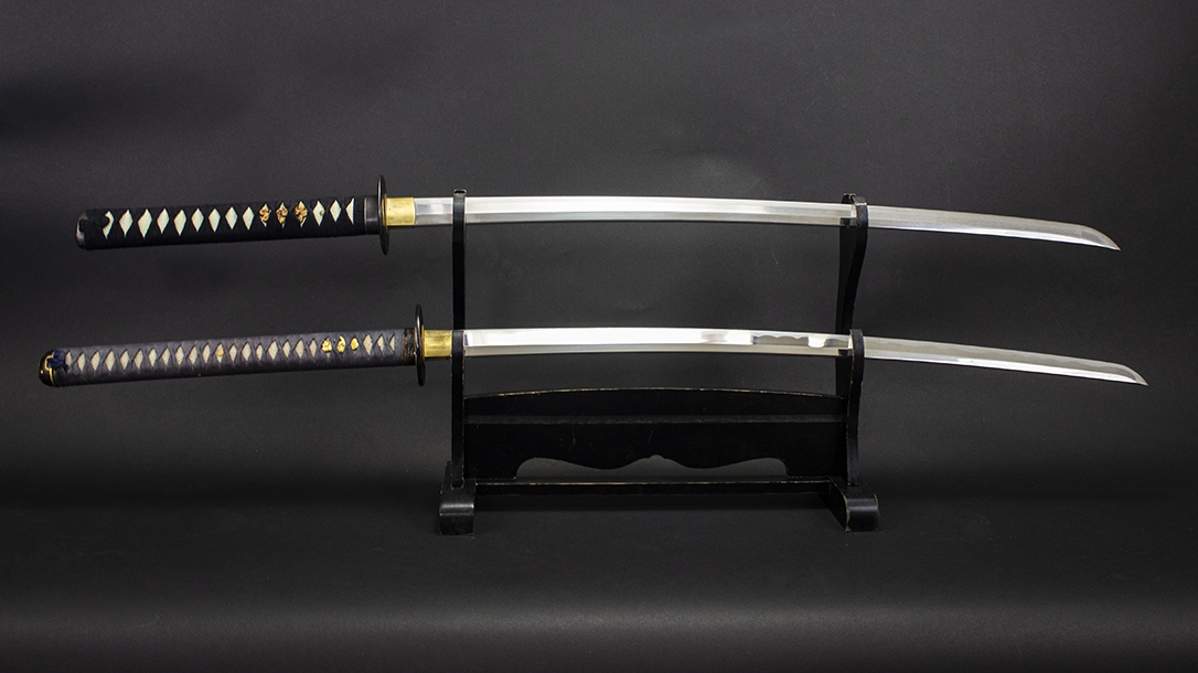 Katana, duo, display