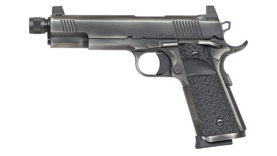 Dan Wesson Wraith 1911, suppressor ready pistol