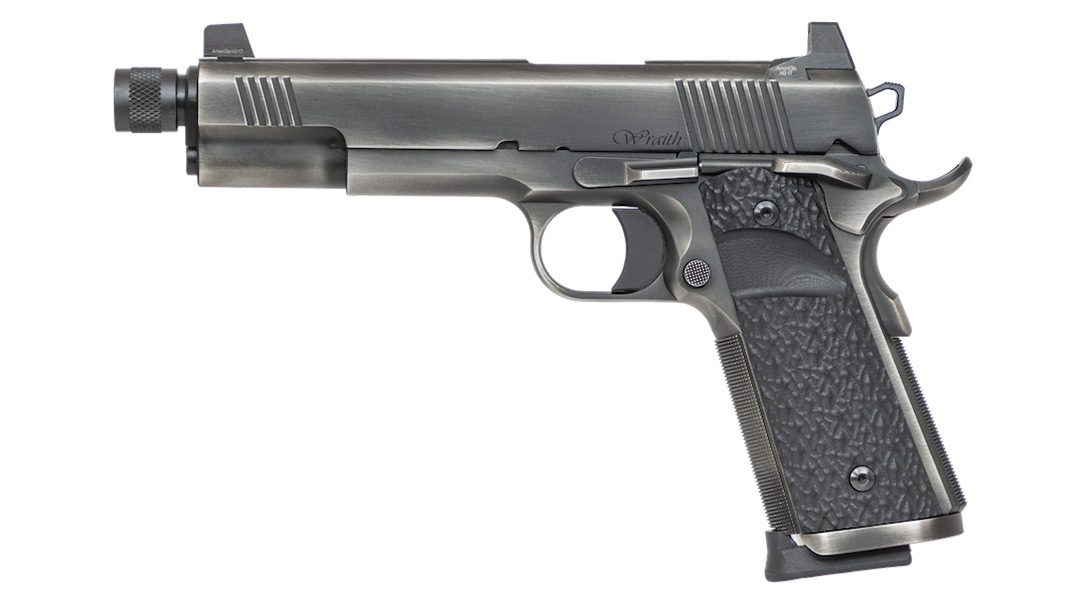 Dan Wesson Wraith 1911, suppressor ready pistol