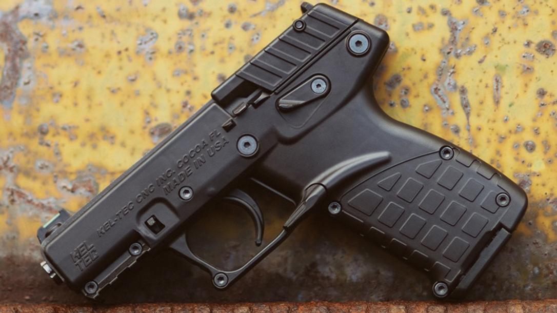 Kel-Tec P 17, .22 LR Pistol, left
