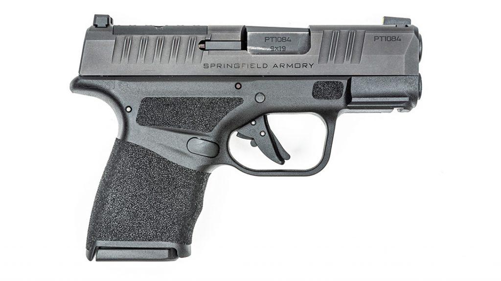 9mm pistol, ccw, standard hc, right