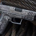 Blowndeadline custom pistol build, Springfield Armory, left
