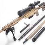 Accurate-Mag AMSR rifle, barrels