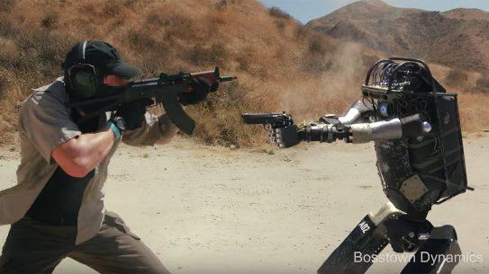 Gun-Shooting Robot, Boomtown Dynamics