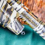 12-gauge shotgun, mossy oak camo, bird hunting