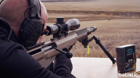 Desert Tech HTI Rifle .375 Cheytac, range test