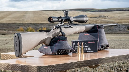 Mossberg Patriot Predator 6.5 PRC, rifle, range