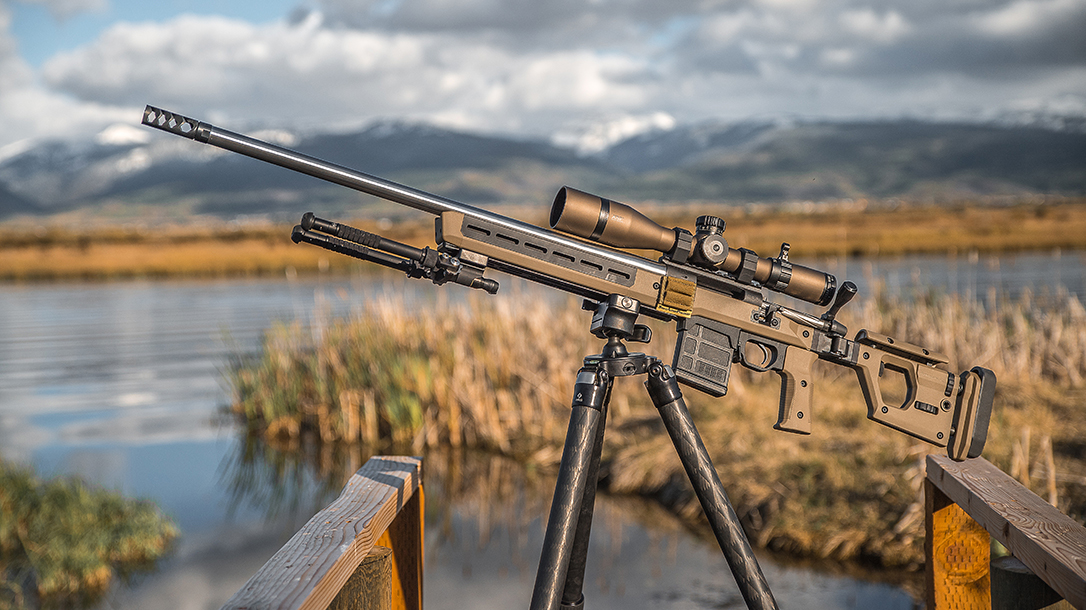 Magpul Pro 700 Chassis, precision rifle build, lead