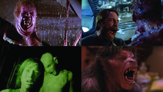 Best Scary Movie Moments of all-time, the thing, the fly, the descent, an american werewolf in london