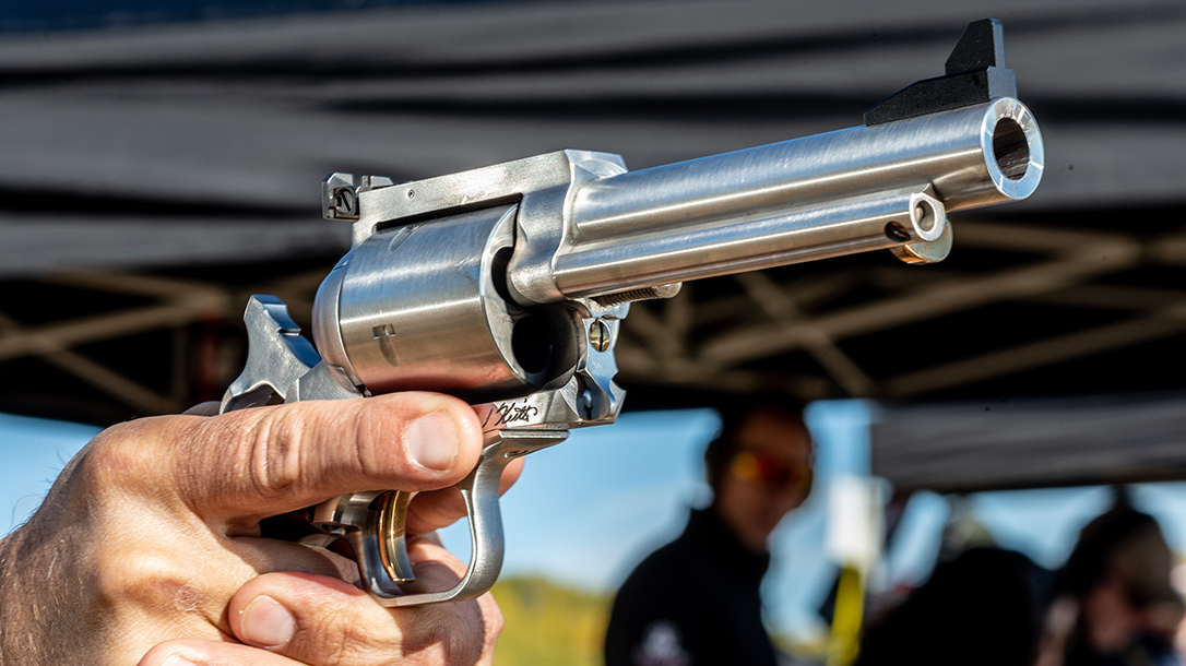 Magnum Research Elmer Keith BFR 500 Linebaugh, revolver, athlon outdoors rendezvous