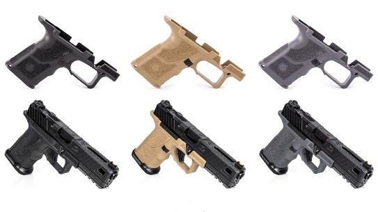 ZEV OZ9 Shorty Grip, Pistol Grip, variants
