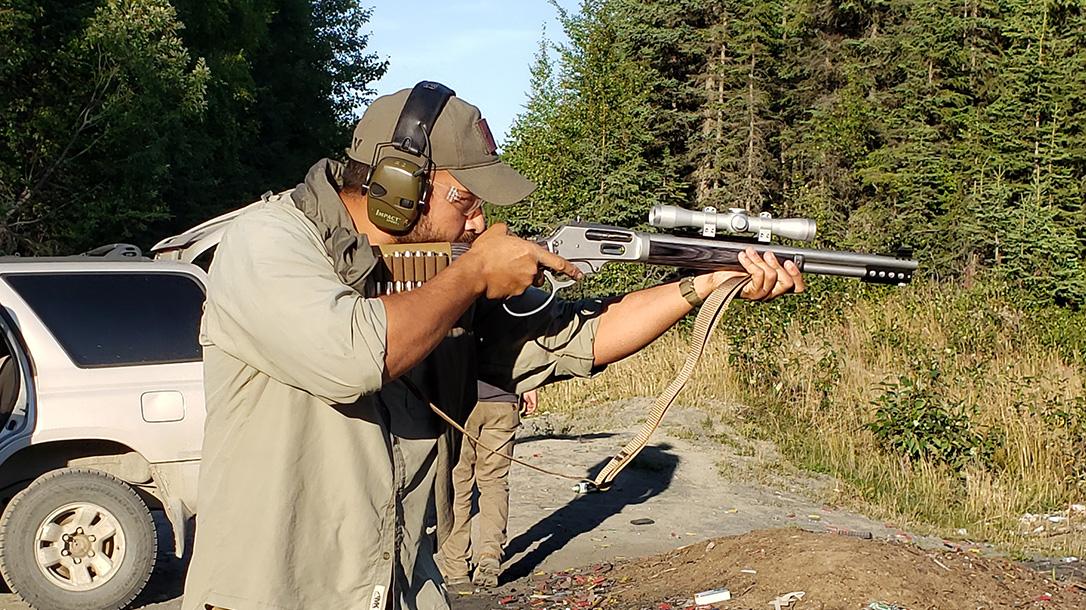 Wild West Guns Co-Pilot Takedown Rifle, testing