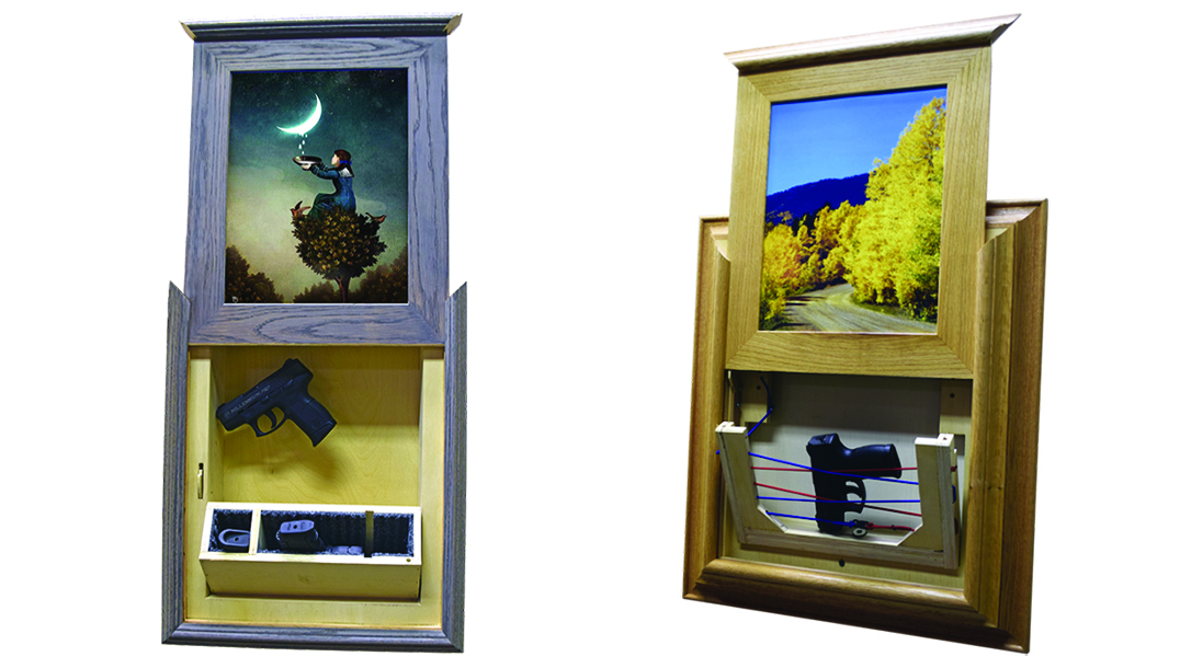Freedom Frames, Firearm concealment, Gun concealing furniture, gun concealment furniture