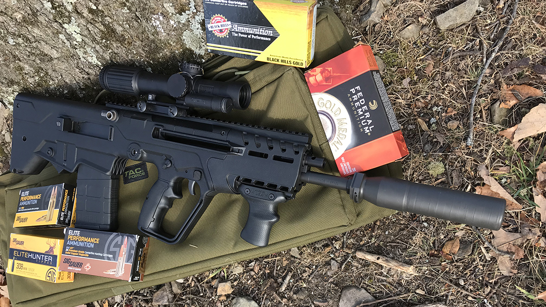 israel weapon industries, bullpup rifle, barrel