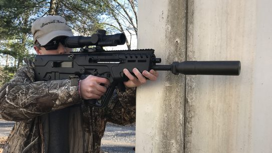 IWI Tavor 7 test, IWI Tavor 7 review, aiming