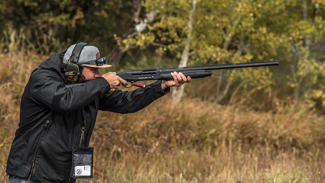Weatherby 18i Synthetic Semi-Auto Shotgun, Weatherby 18i Deluxe Semi-Auto Shotgun