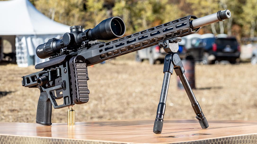 SIG Cross Bolt-Action Rifle, SIG Sauer Cross Bolt Action Rifle, folded