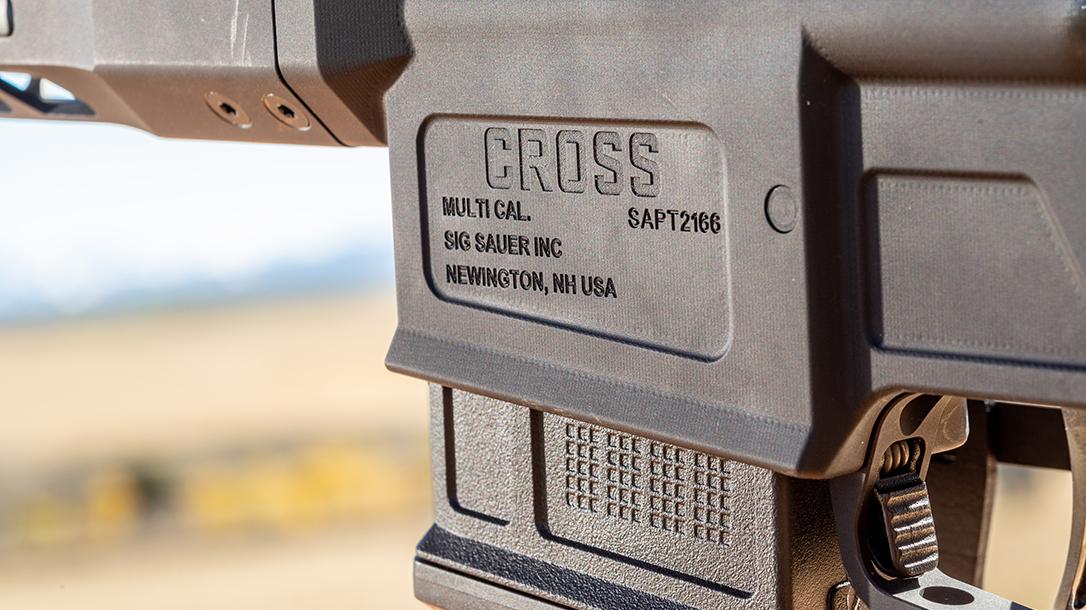 Sauer Bolt-Action Rifle, Logo, Magazine