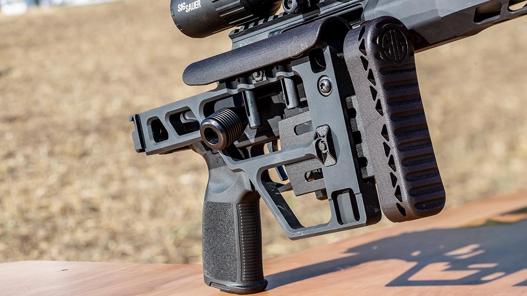 Sig Cross Bolt Action Rifle, Sig Sauer Cross Bolt-Action Rifle, Folding Stock
