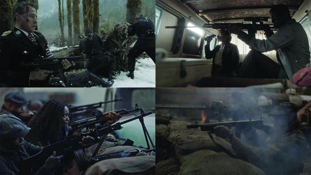 The Man in the High Castle Season 4, guns