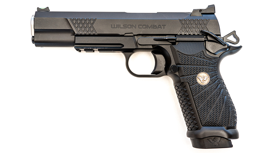 Wilson Combat EDC X9L pistol, best 1911, 9mm, left