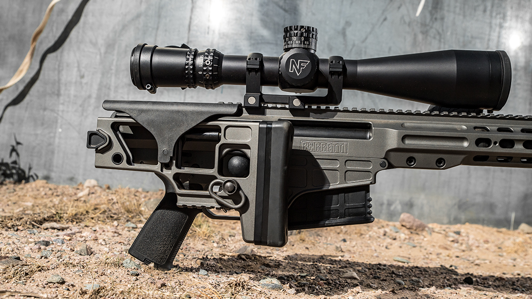 Barrett MRAD 6.5 Creedmoor, Ballistic Best Bolt-Action Rifle, folding stock