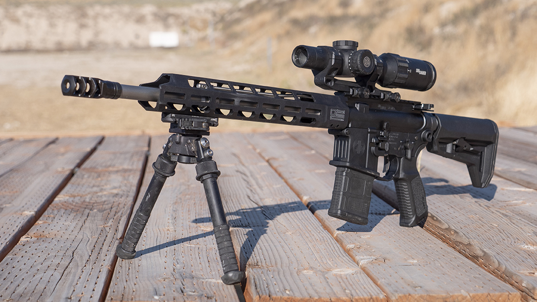 SIG M400 Tread, Best Semi-Auto Rifle 2019, Ballistic's Best Reader's Choice, left